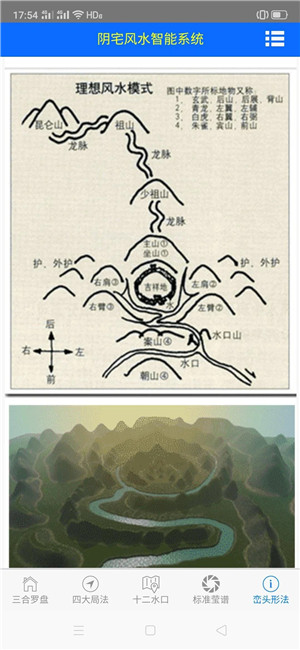 三合罗盘风水秘笈阴宅风水智能系统
