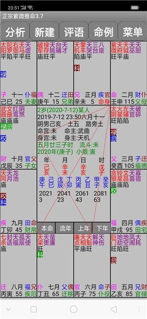 易学紫微斗数排盘分析软件,紫微斗数排盘分析软件