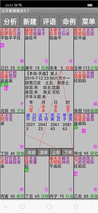 易学紫微斗数排盘分析软件