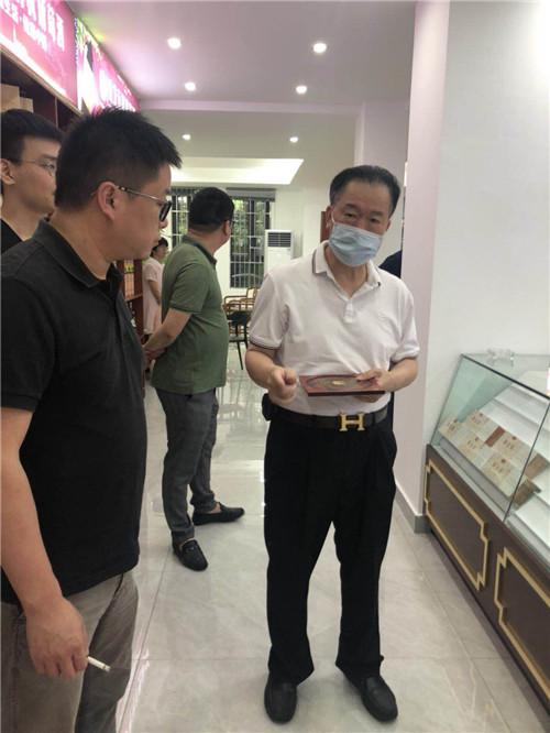 著名企业风水师裴翁老师为宁波市某烟酒行有限公司做风水策划